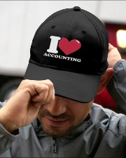 Accountant - I Love Accounting Embroidered Hat garment-embroidery-hat-lifestyle-01