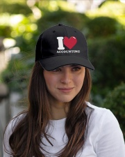 Accountant - I Love Accounting Embroidered Hat garment-embroidery-hat-lifestyle-07