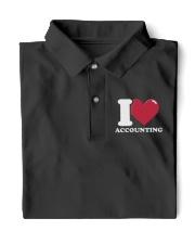 Accountant - I Love Accounting Classic Polo thumbnail