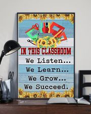 We Succeed Teacher 11x17 Poster lifestyle-poster-2