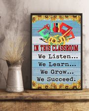 We Succeed Teacher 11x17 Poster lifestyle-poster-3