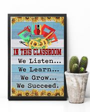 We Succeed Teacher 11x17 Poster lifestyle-poster-8
