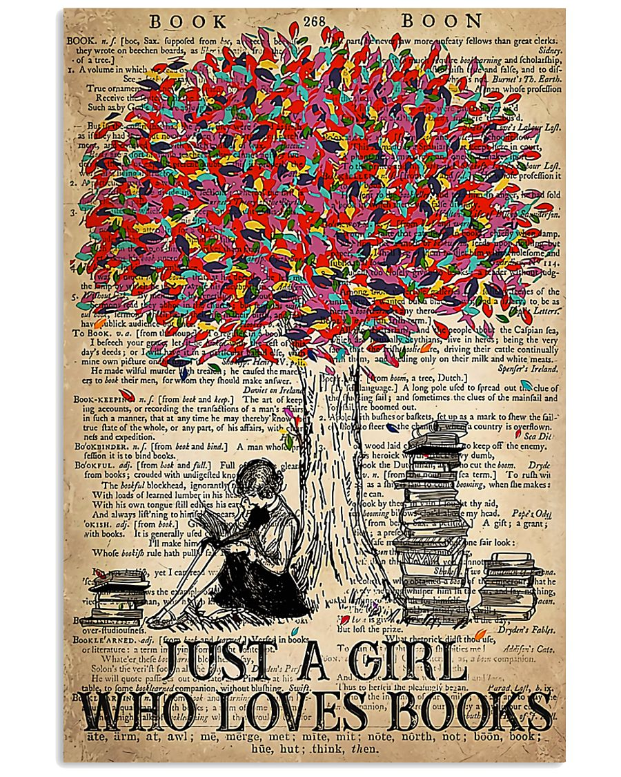 Just A Girl Who Loves Books 11x17 Poster