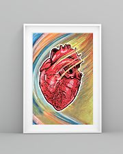 Cardiologist Colorful Heart 11x17 Poster lifestyle-poster-5