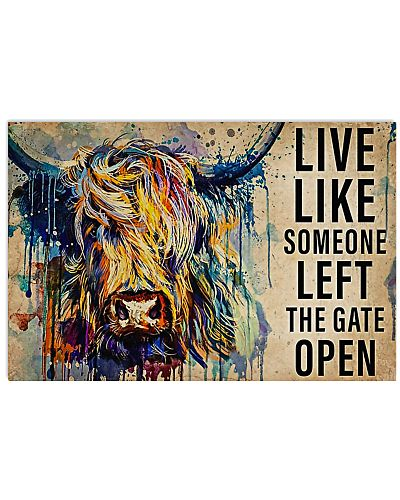 Farmer Live Like Someone Left The Gate Open