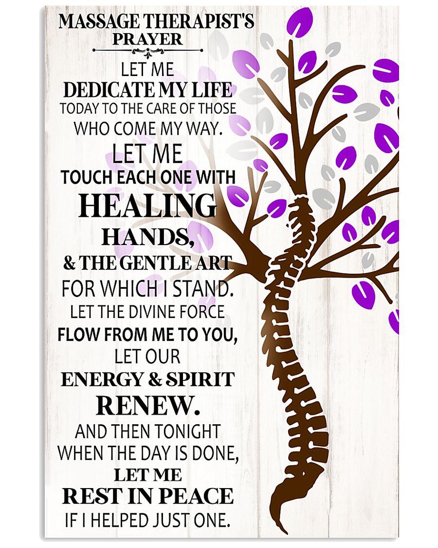 Massage Therapist's Prayer 11x17 Poster