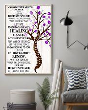 Massage Therapist's Prayer 11x17 Poster lifestyle-poster-1