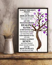 Massage Therapist's Prayer 11x17 Poster lifestyle-poster-3