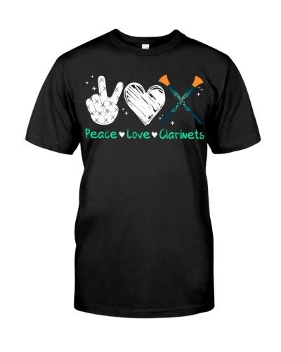 Peace Love Clarinet