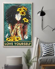 Social Worker Love Yourself 11x17 Poster lifestyle-poster-1