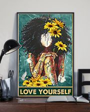 Social Worker Love Yourself 11x17 Poster lifestyle-poster-2