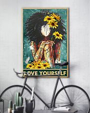 Social Worker Love Yourself 11x17 Poster lifestyle-poster-7