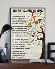 Being A Physician Assistant Means 11x17 Poster lifestyle-poster-2