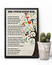 Being A Physician Assistant Means 11x17 Poster lifestyle-poster-8