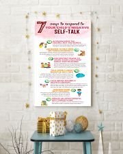 Social Worker Ways To Respond To Negative Talk 11x17 Poster lifestyle-holiday-poster-3