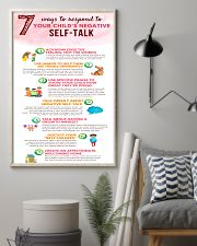 Social Worker Ways To Respond To Negative Talk 11x17 Poster lifestyle-poster-1
