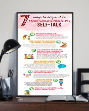 Social Worker Ways To Respond To Negative Talk 11x17 Poster lifestyle-poster-2