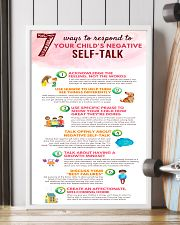 Social Worker Ways To Respond To Negative Talk 11x17 Poster lifestyle-poster-4