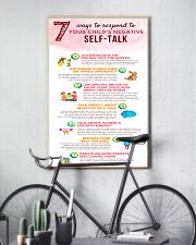 Social Worker Ways To Respond To Negative Talk 11x17 Poster lifestyle-poster-7