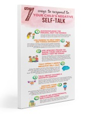 Social Worker Ways To Respond To Negative Talk 20x30 Gallery Wrapped Canvas Prints thumbnail