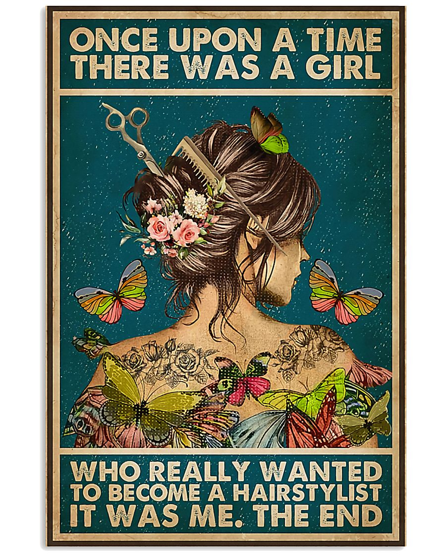 Hairdresser Once Upon A Time There Was A Girl 11x17 Poster