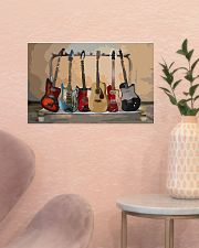Guitar Watercolor Band 17x11 Poster poster-landscape-17x11-lifestyle-22