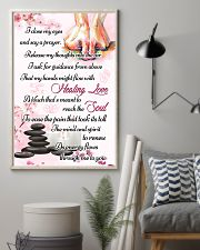 Massage My Hands Might Flow With Healing Love 11x17 Poster lifestyle-poster-1