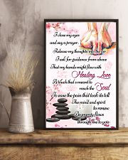 Massage My Hands Might Flow With Healing Love 11x17 Poster lifestyle-poster-3
