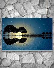 Guitar Tree Abstract 17x11 Poster poster-landscape-17x11-lifestyle-13