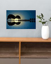 Guitar Tree Abstract 17x11 Poster poster-landscape-17x11-lifestyle-24