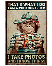 I Take Pictures Photographer 11x17 Poster front