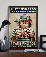 I Take Pictures Photographer 11x17 Poster lifestyle-poster-2