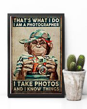 I Take Pictures Photographer 11x17 Poster lifestyle-poster-8
