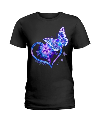 Heart Butterfly Suicide Prevention