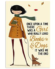 Book Lover A Girl Who Really Loved Books And Dogs 11x17 Poster front