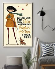 Book Lover A Girl Who Really Loved Books And Dogs 11x17 Poster lifestyle-poster-1