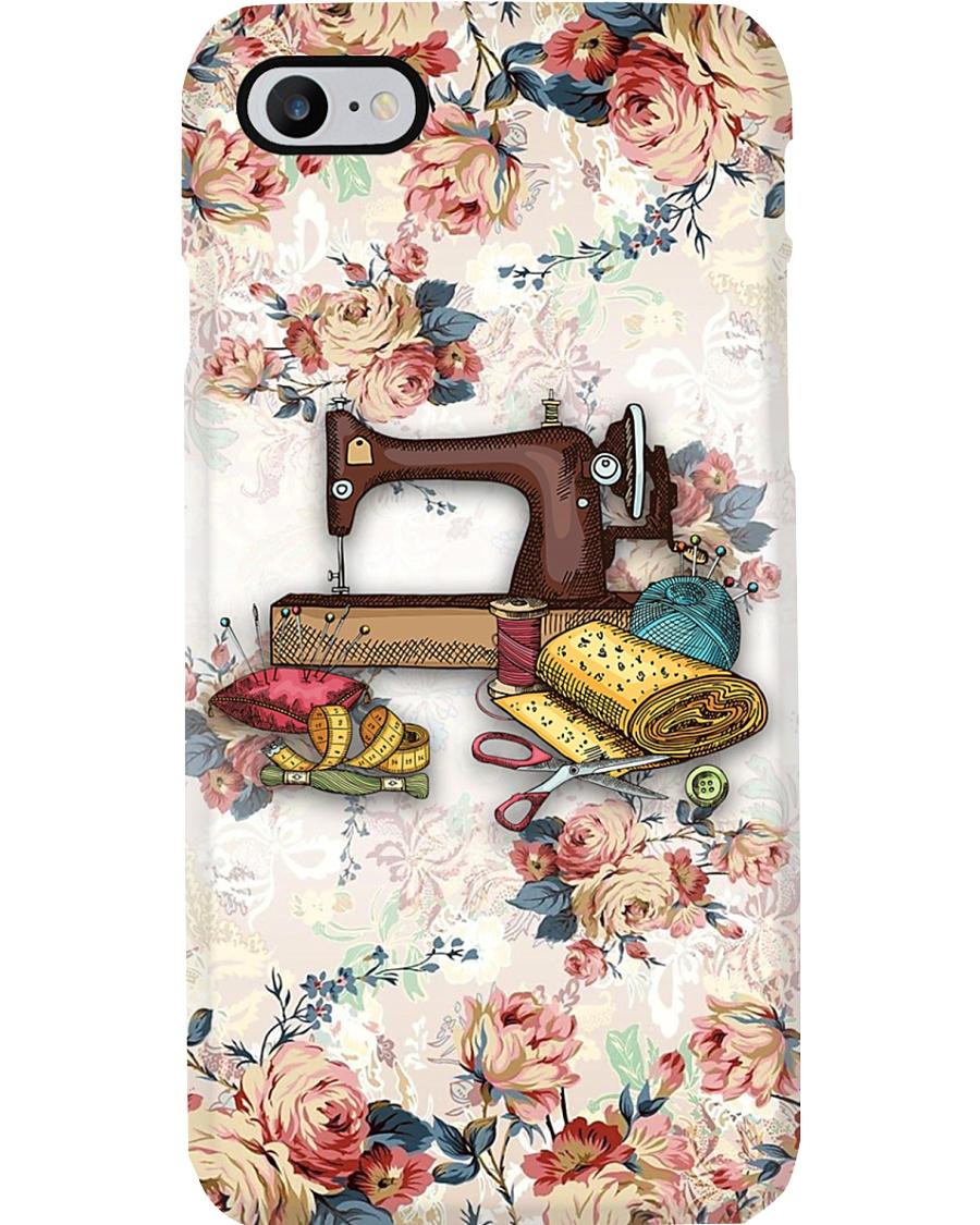 Beautiful Flower Sewing Machine   Phone Case