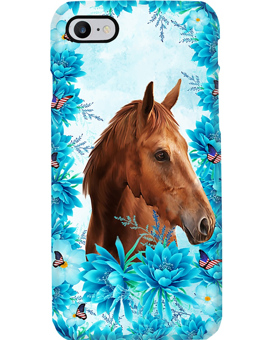Horse Girl - Flowers Phone Case