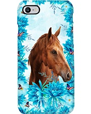 Horse Girl - Flowers Phone Case i-phone-7-case