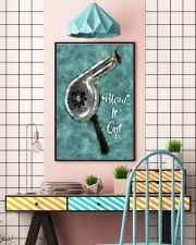 Blow It Out Hairdresser 11x17 Poster lifestyle-poster-6