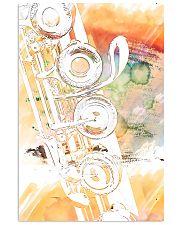 Art Watercolor Flute  11x17 Poster front