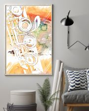 Art Watercolor Flute  11x17 Poster lifestyle-poster-1