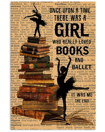 There was a girl who really loved books and ballet