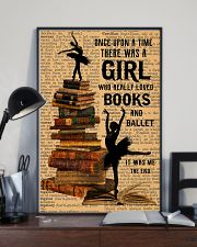 There was a girl who really loved books and ballet 11x17 Poster lifestyle-poster-2