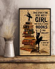 There was a girl who really loved books and ballet 11x17 Poster lifestyle-poster-3