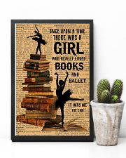 There was a girl who really loved books and ballet 11x17 Poster lifestyle-poster-8