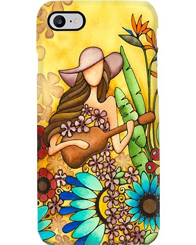 Flower Girl With Ukulele