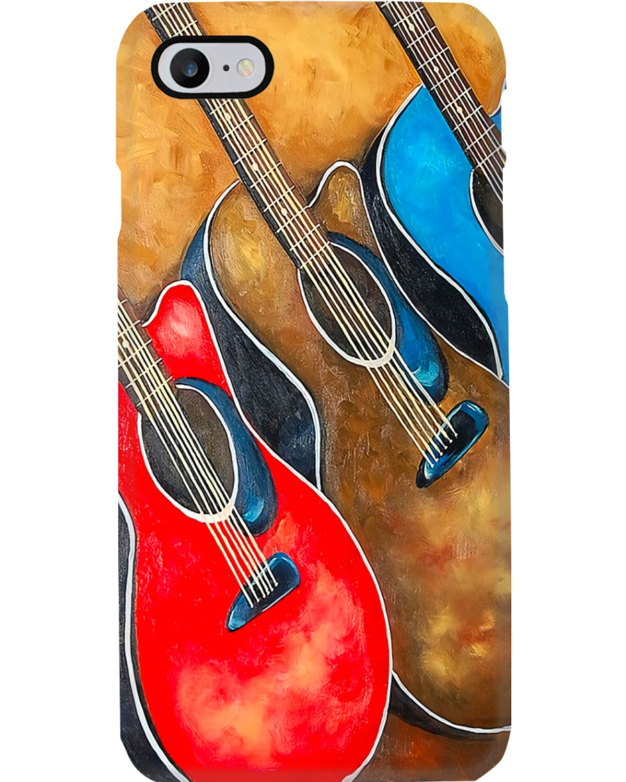 Colorful Guitars Phone Case