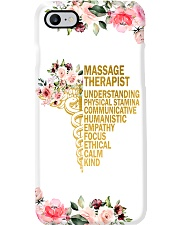 Massage Therapist Understanding Physical Stamina Phone Case i-phone-7-case