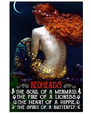 Redhead Girl The Soul Of A Mermaid 11x17 Poster front